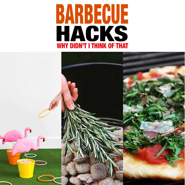 Barbecue Hacks /// Why Didn't I Think Of That
