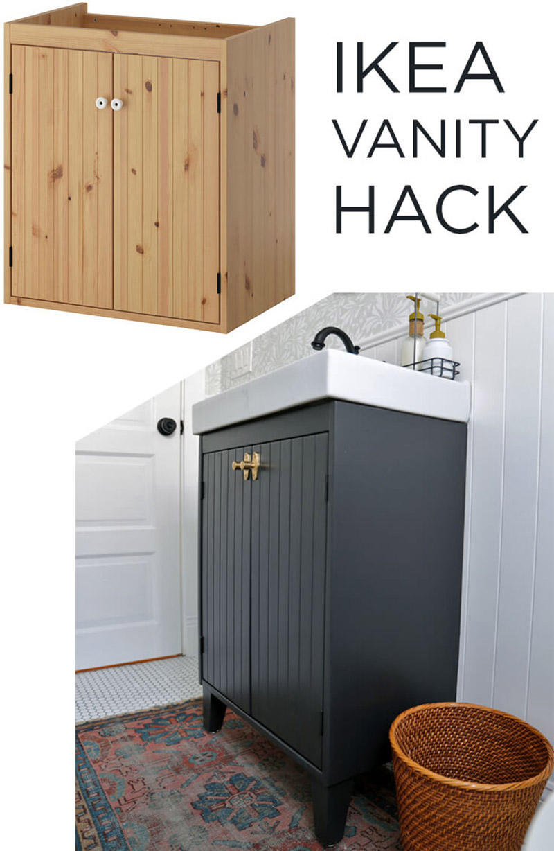 The Ultimate Collection Of Bathroom Ikea Hacks The Cottage Market