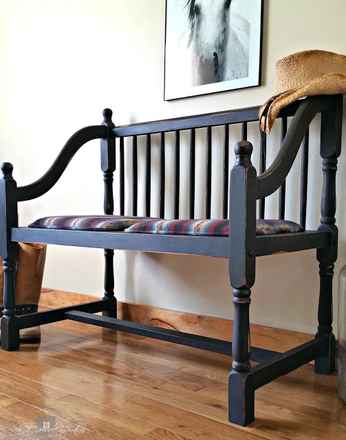 Country Bench Seat in Fondant