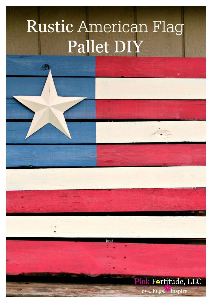 Rustic-American-Flag-Pallet-DIY