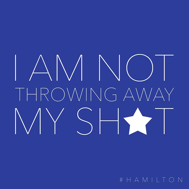 This blue Hamilton lyric printable is inspirational.