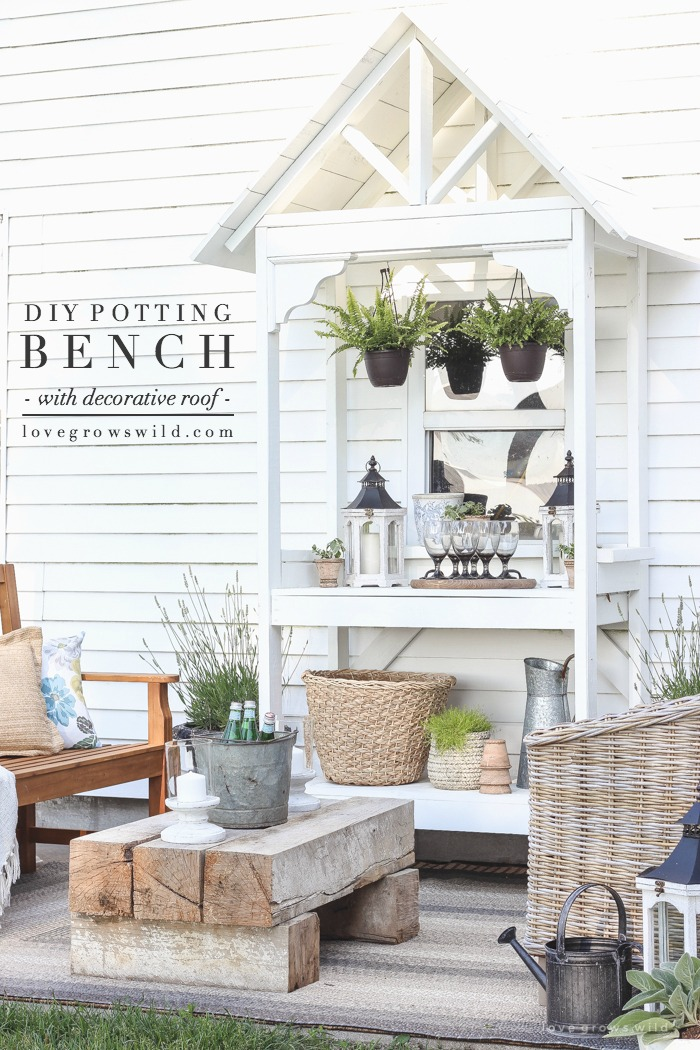 DIY-Potting-Bench-with-Decorative-Roof-final