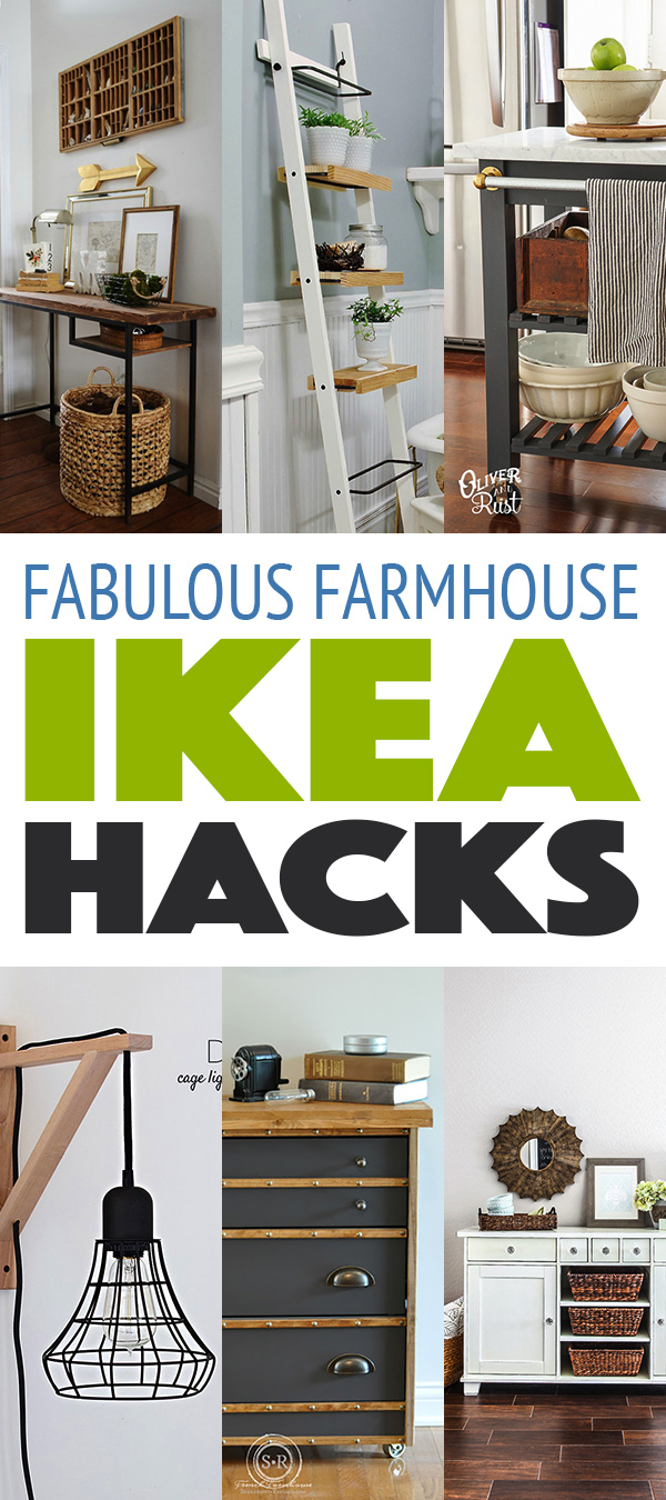 Fabulous Farmhouse Style IKEA Hacks
