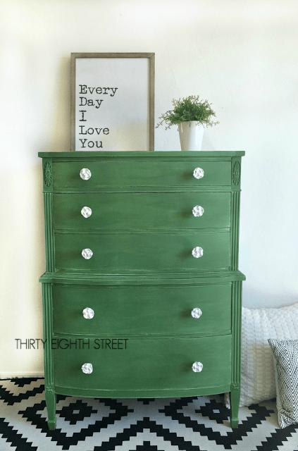 Green Dressers 1393
