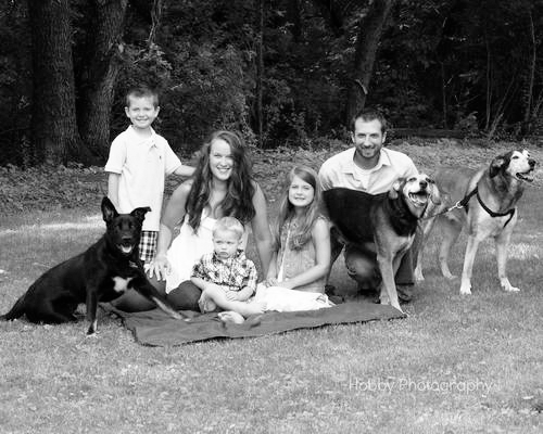 Black-and-white-family