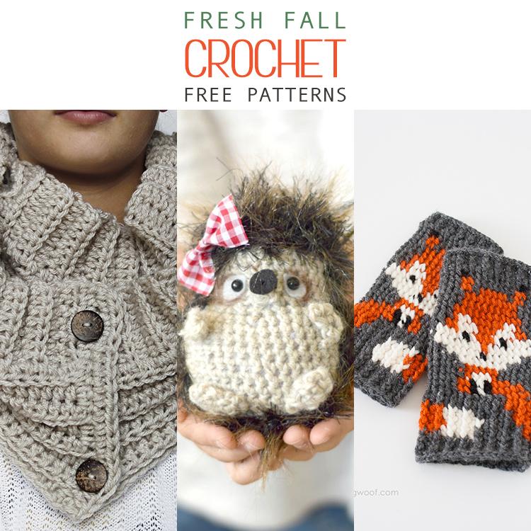 15 Fresh Fall Free Crochet Patterns