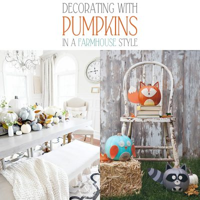 Decorating with Pumpkins in Farmhouse Style