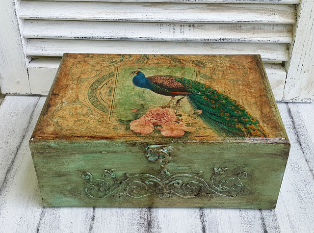 Peacock box mine1