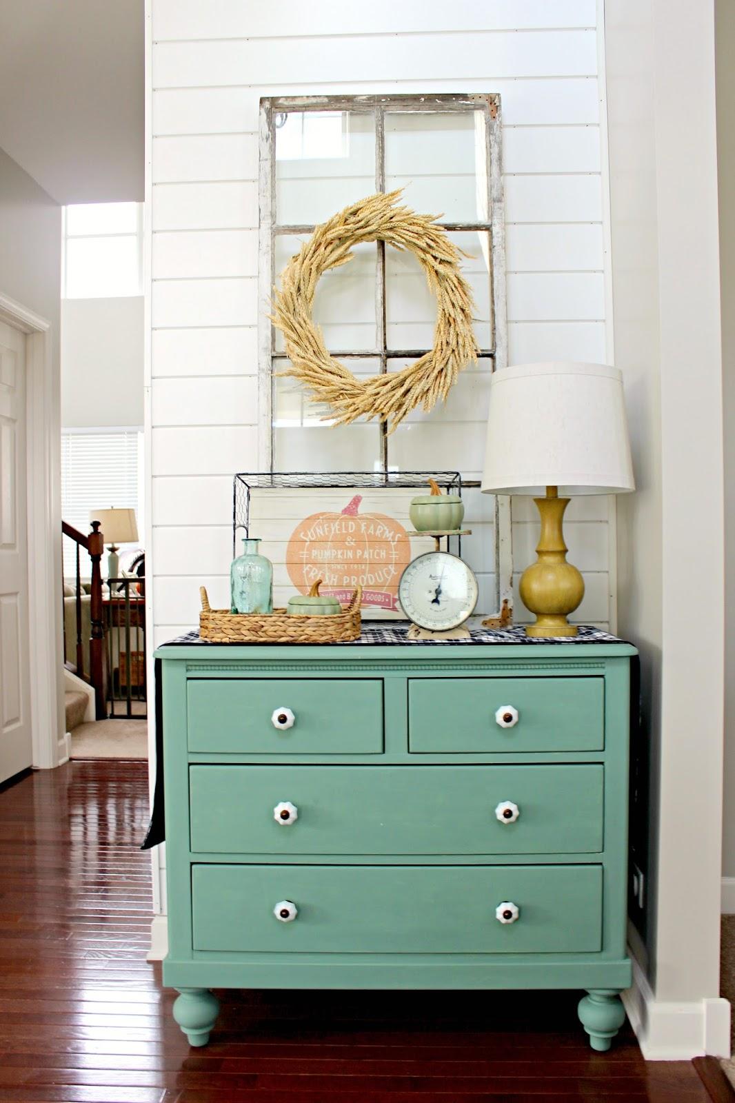 aqua paint furniture
