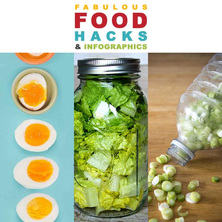 Fabulous Food Hacks and Infographics