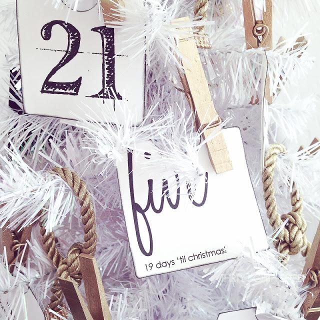 25 Family Christmas Activity Ideas Advent Calendar (1 of 1)