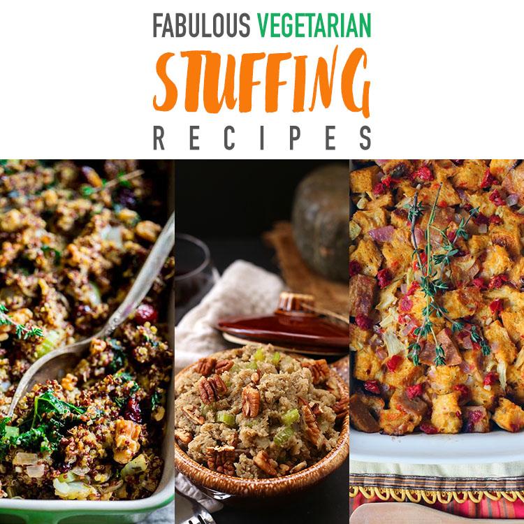 Fabulous Vegetarian Stuffing Recipes