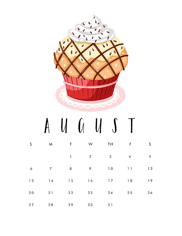 TCM-Cupcake-2017-Calendar-8-August-Preview