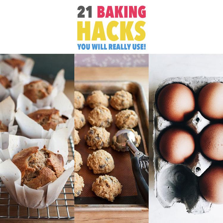 21 Baking Hacks You Will Really Use