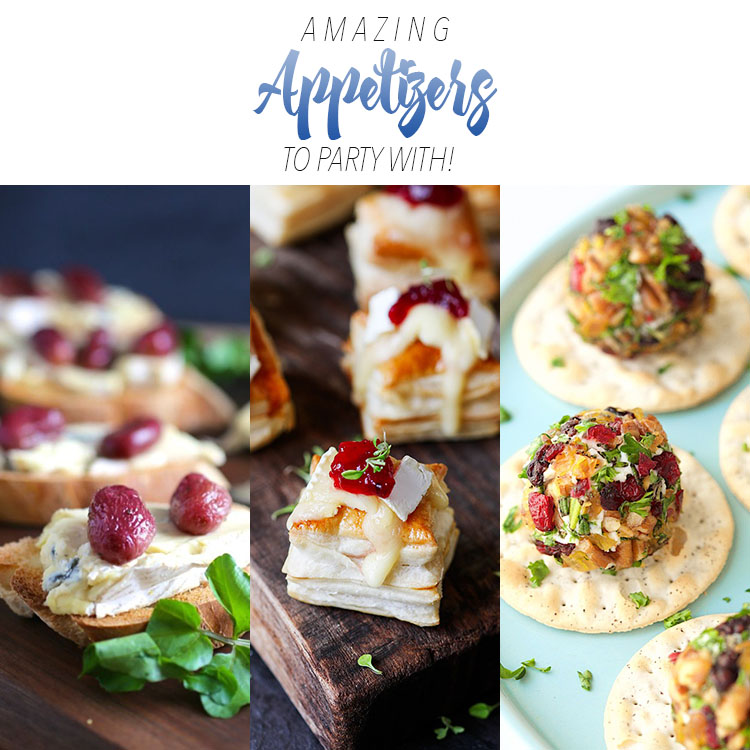 Amazing Vegetarian Appetizers To Party With!