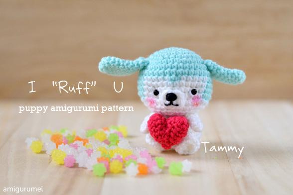 Valentine's Day Cat crochet pattern - Amigurumi Today | 392x588