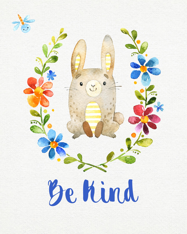 Free Woodland Nursery Wall Art Printables Set Of 6