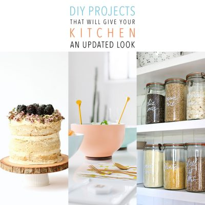 DIY Projects That Will Give Your Kitchen An Updated Look