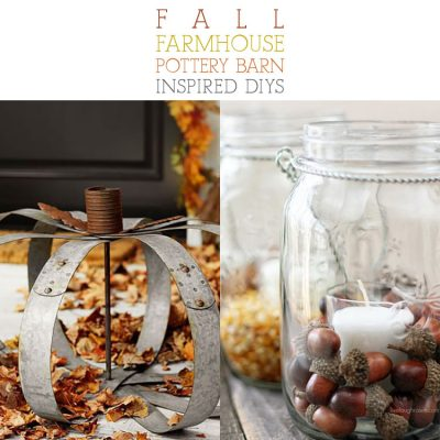 Fall Farmhouse Pottery Barn Inspired DIYS