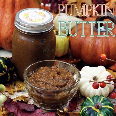 Quick and Easy Pumpkin Spice Pumpkin Butter