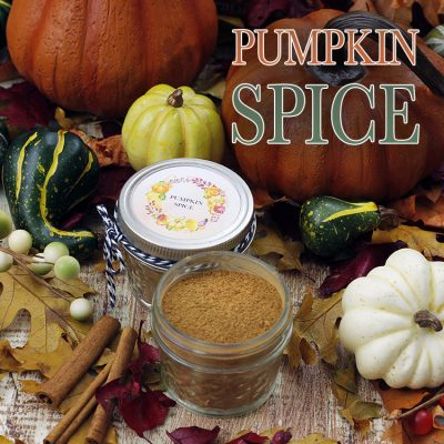 Pumpkin Spice Recipe with Free Printable Labels