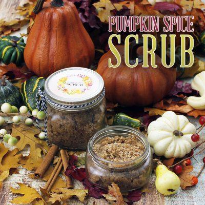 Quick and Easy Pumpkin Spice Scrub