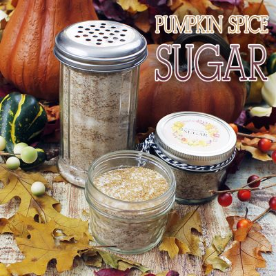 Pumpkin Spice Sugar Recipe With Free Printable Label