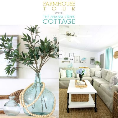 Farmhouse Tour with The Shabby Creek Cottage