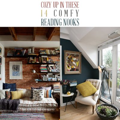 Cozy Up in these 14 Comfy Reading Nooks