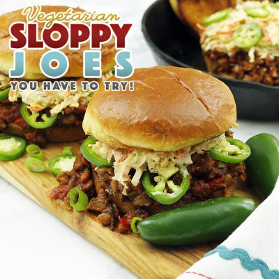 Vegetarian Sloppy Joes That You Have to Try!
