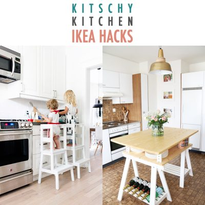 Kitschy Kitchen IKEA Hacks
