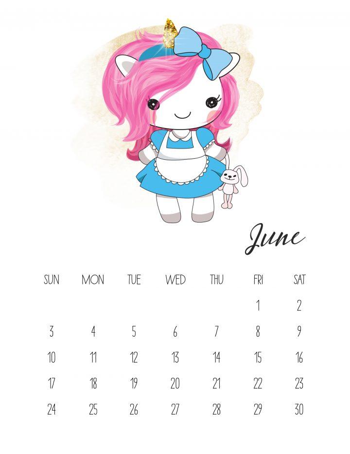Unicorn Alice is on her way to Wonderland in June