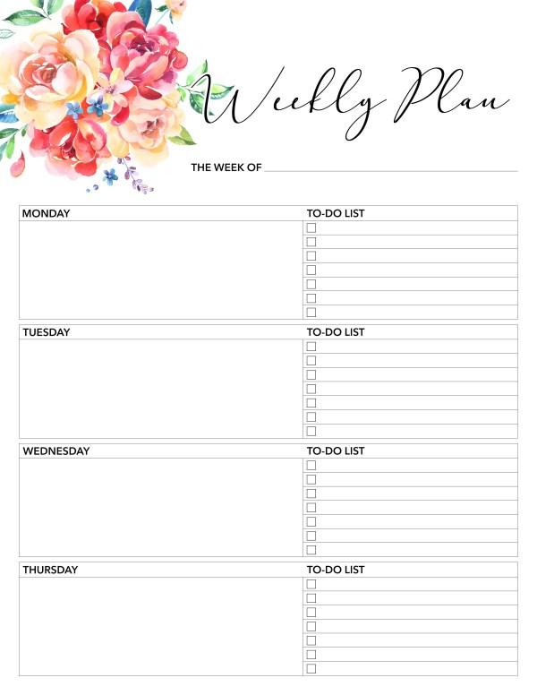free printables planner # 9