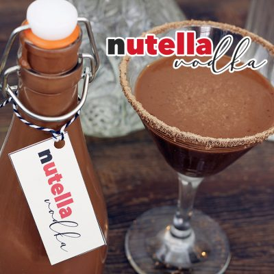 Nutella Vodka