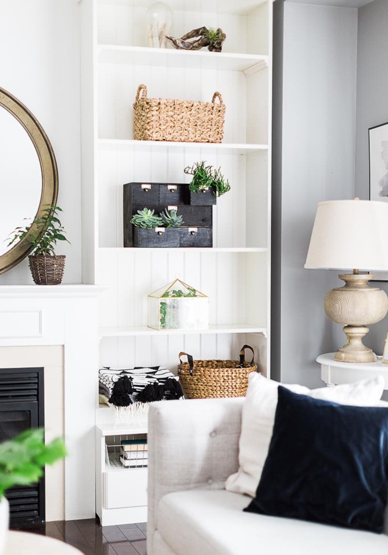 These Marvelous Moppe IKEA Hacks are going to solve some of your storage and organizing needs in style!  A place for all those little things you need to find in a snap.
