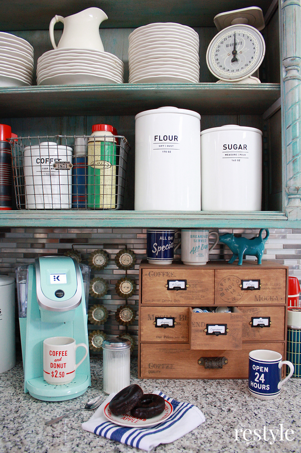 This IKEA Moppe is fun and functional kitchen storage