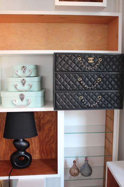 This IKEA Moppe hack does designer with this stunning faux chanel cover