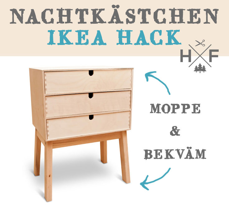 This IKEA hack takes two popular IKEA pieces and combines them for an awesome cabinet organizer