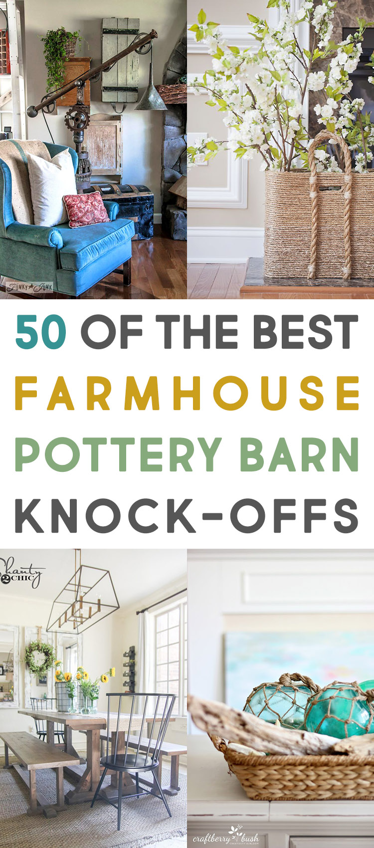 50 Of The Best Farmhouse Pottery Barn Knock Offs The Cottage Market