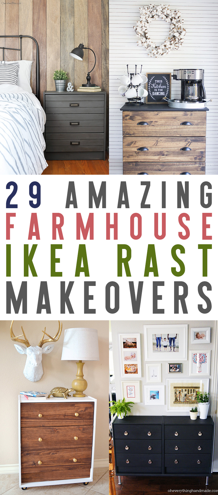 Use these Ikea rast makeovers as inspiration in your own home.