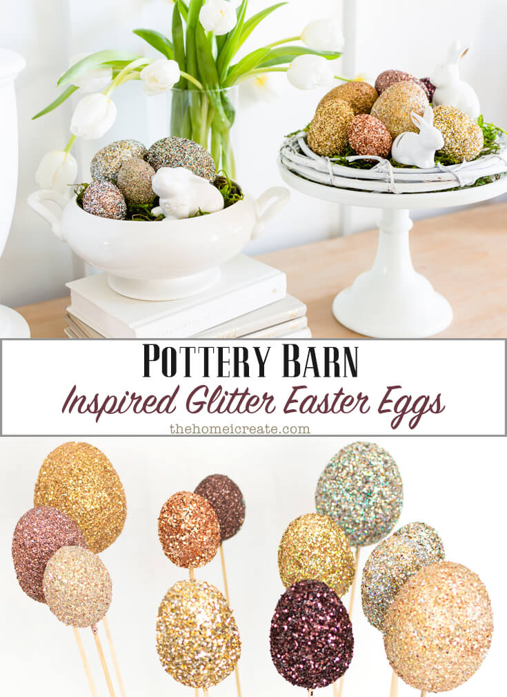 These Pottery Barn Knock-Offs That Celebrate Spring could be just what you have been looking for to decorate your home with a wonderful Farmhouse Touch!