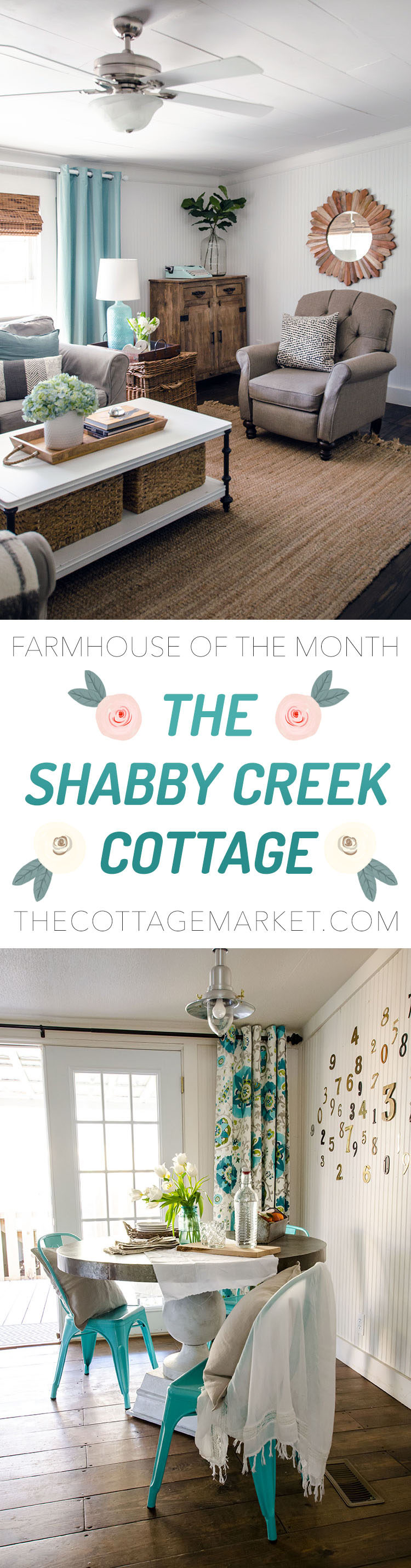 A Look Inside the Shabby Creek Cottage