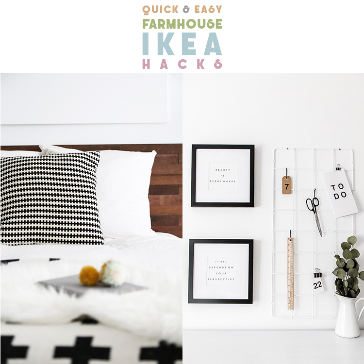 Quick & Easy IKEA Hacks | Farmhouse Style IKEA Hacks