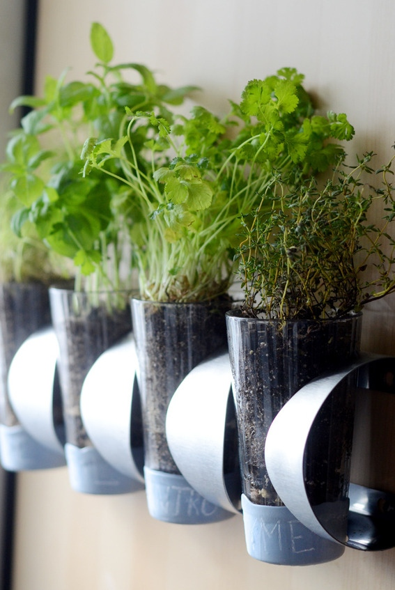 This indoor herb garden is a creative IKEA hack