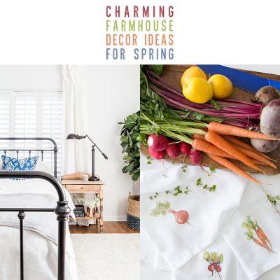 Charming Farmhouse Decor Ideas For Spring