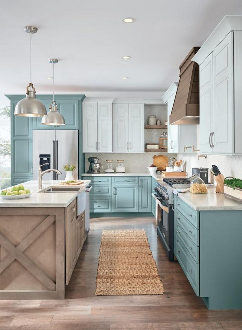 Farm House Kitchens: The Ultimate Blue Farmhouse Kitchen Collection