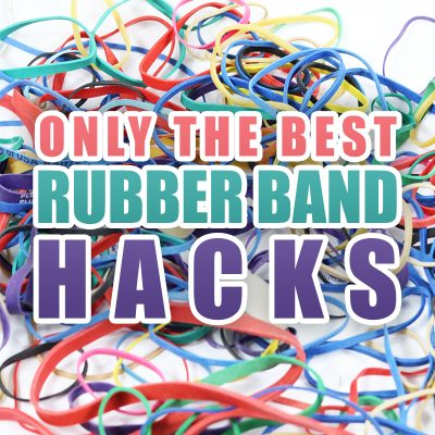 Only the Best Rubber Band Hacks