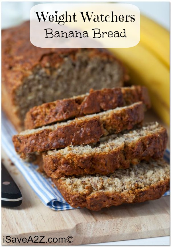 This banana bread is moist and full of yummy sweet flavors.
