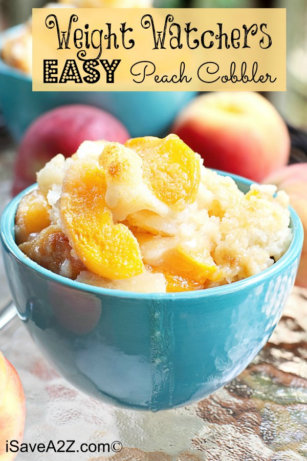 This decadent peach cobbler is easy to make and has a flaky crust.