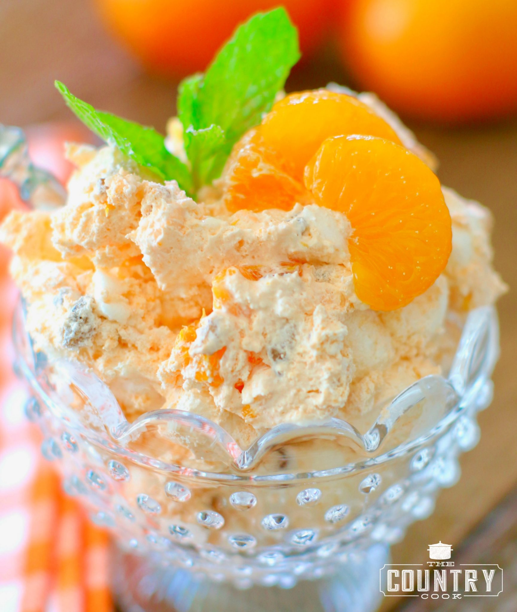 This easy to make orange fluff is fresh and full of yummy citrus flavors.
